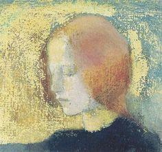 """Hélène Schjerfbeck - """"Katkelma"""", 1904-05"""