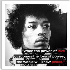 Jimi Hendrix Quote - Canvas Art Print