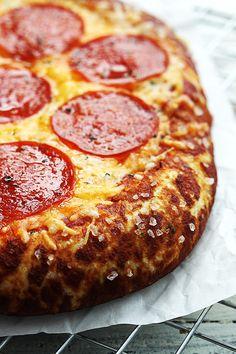 Pretzel Crust Pizza!