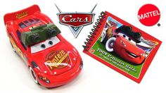 Disney Cars Night Vision Lightning McQueen with IR-Goggles and 2009 Collector Guide Book  Hi YouTubers and welcome to ToyPitStop. Today I will show you from Mattel Cars Night Vision Lightning McQueen. This Race-O-Rama release is from 2009 and features beside the exclusive diecast also a collector guide with 88 pages and shows over 135 different models. #disney #pixar #carstoon #lightningmcqueen