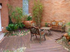 Tem um jardim de inverno em casa (também conhecido como área de luz) e   não sabe o que fazer com ele?   Seguem abaixo algumas sugestões d...