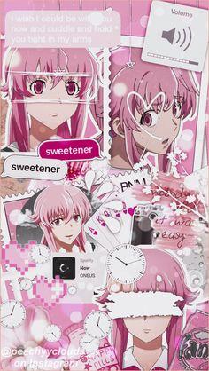 Yandere Girl, Yandere Anime, Animes Yandere, Girls Anime, Chica Anime Manga, Anime Neko, Otaku Anime, Kawaii Anime, Anime Collage