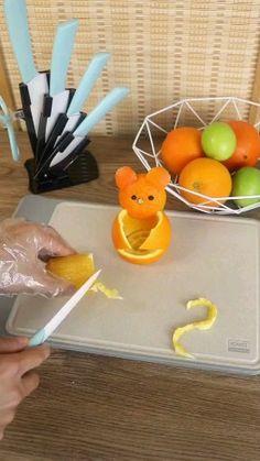 recipe for kids videos Recipes Healthy Recipes For Diabetics, Healthy Gluten Free Recipes, Healthy Crockpot Recipes, Healthy Meals For Kids, Kids Meals, Orange Recipes Easy, Deco Fruit, Gastro, Food Carving