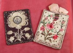 Antique French Embroidered Detentes