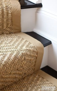 seagrass stair runner - Google Search