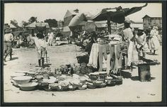 Vintage, Postcard, Haiti