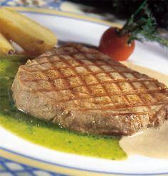 Recepten - Geroosterde tonijn met basilicumsaus
