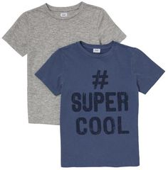 F&F 2 Pack of Super Cool and Marl T-Shirts on shopstyle.co.uk
