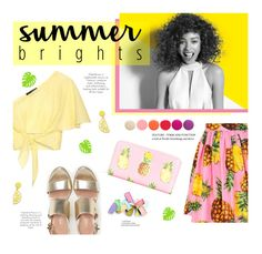 """""""Summer Brights"""" by edenslove ❤ liked on Polyvore featuring Paul Mitchell, Anna October, Dolce&Gabbana, Celebrate Shop, Max&Co. and Deborah Lippmann"""