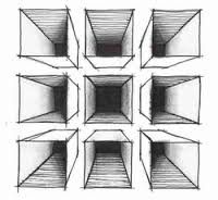 Image result for middle school art projects perspective