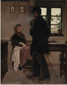 Small-Holders. Sealand | L. A. Ring | 1898 | Statens Museum for Kunst | CC0