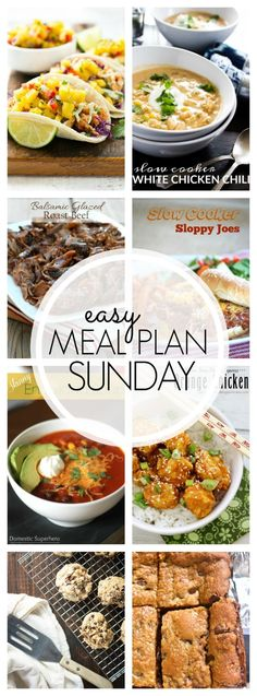 Hi! I am here with another Meal Plan for you! I am currently in Alabama getting ready to tour the Southern Living Dream House and Kitchen and EEK, I can't wait! So I am going to keep this sho…