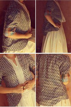 Itr by Khyati Pande - [Xena Ikat Summer Jacket] : Simply Sizzlin