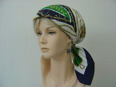 Bandanas - Bandana Agnes Vintage Style - ein Designerstück von hofatelier-mode bei DaWanda