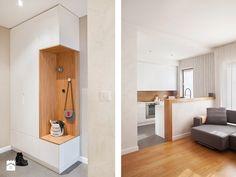 Mały hol / przedpokój, styl nowoczesny - zdjęcie od Qbik Design