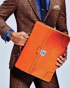 """15.2k Likes, 117 Comments - GQ (@gq) on Instagram: """"What to Wear Today: A bold briefcase that let's the whole office know you mean business.…"""""""
