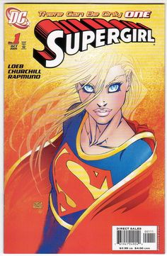 Supergirl Issue #1 by Jeph Loeb and Michael Turner (2005)