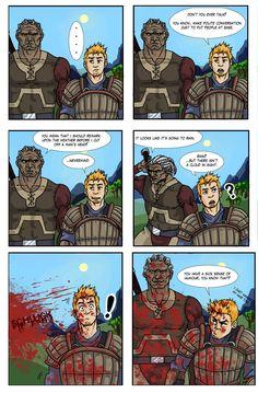 Risultati immagini per dragon age sten meme Dragon Age Comics, Dragon Age Memes, Dragon Age Funny, Dragon Age 2, Dragon Age Alistair, Dragon Age Origins, Dragon Age Inquisition, Skyrim, Larp