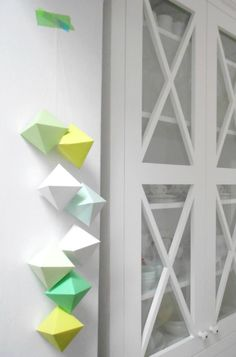 Decorate your home for the holidays with these paper jewels.