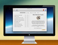 Mountain Tweaks, an app tool for Mac users by Fredrik Wiker.