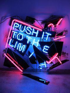 Neon Signage // THE FINISH BLOG