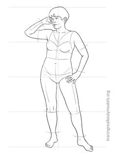 36 Ideas For Fashion Drawing Template Models Real Bodies Fashion Illustration Template, Fashion Sketch Template, Fashion Figure Templates, Fashion Design Template, Design Templates, Croquis Drawing, Body Drawing, Plus Sise, Model Sketch
