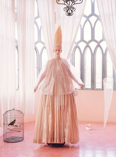 'Stranger Than Paradise' Tilda Swinton by Tim Walker for W May 2013 [Editorial]