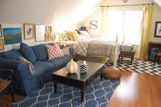 Loving the citrine #DwellStudio drapes! #Interiors #HowYouDwell
