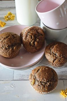 muffin_grano_saraceno_farina_segale Muffin, Fodmap, Breakfast, Sweet, Fitness, Food, Europe, Diet, Morning Coffee