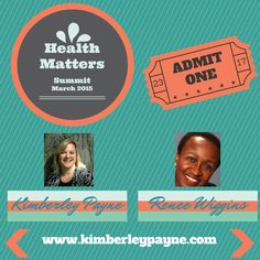 I gave an interview for Kimberley Payne's Health Matters Summit: topic was Being Healthy from the Inside Out