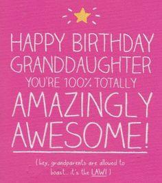 birthday poems granddaughter