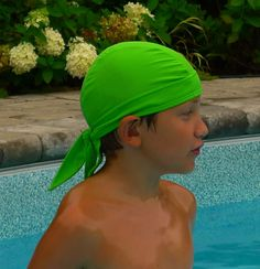 "Nammu swim cap has been designed knowing that it doesn't matter how well it protects from the sun, if it doesn't look ""cool"" no one is going to wear it! Swim Caps, Close To My Heart, Look Cool, Swimming, Sewing, Hats, How To Wear, Products, Swim"