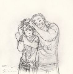 captbexx: (Agent of Asgard) Loki & Thor - an old old sketch… :D