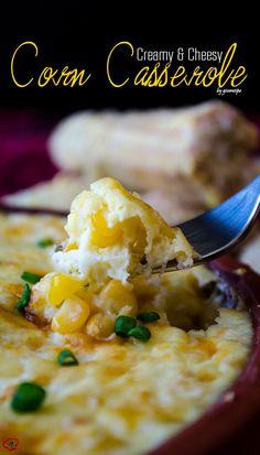 Creamy Cheesy Corn Casserole 1