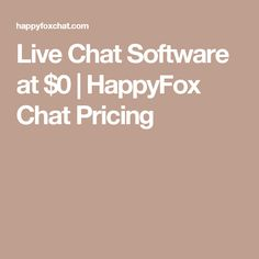 live chat software prices