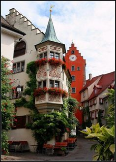 Germany Travel Inspiration - Ancient Village, Meersburg, Germany