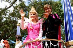 Princess Aurora & Prince Phillip - Celebrate a Dream Come True Parade - Magic Kingdom
