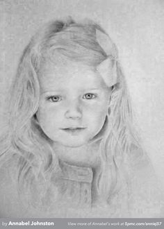 A graphite pencil drawing by Annabel Johnston. To see more, visit www.5pmc.com
