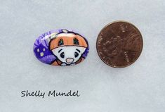 Original Ferret Painting, Whimsy Weasel Stone, Halloween Art- Shelly Mundel #IllustrationArt Halloween Art, Ferret, Original Artwork, Illustration Art, The Originals, Stone, Painting, Accessories, Rock