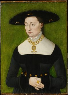 1536 German: Khaterina Merian by Hans Brosamer (active by 1536, died 1552-ish)