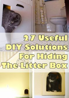 27 Useful DIY Solutions For Hiding The Litter Box. Genius!!! | Wonderful Home