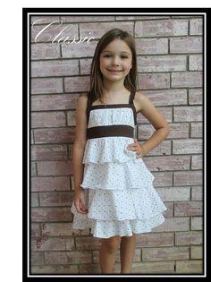 Ellie Inspired Sweet Daisy Girl pattern (sizes 4-12)