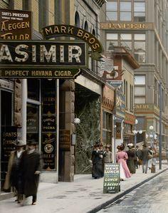 "St. Paul, Minnesota, circa 1908. ""Wabasha Street.""-zoom"