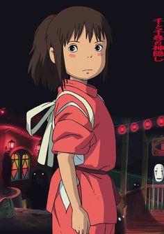 """Chihiro de """"El Viaje de Chihiro"""". Uno de mis personajes favoritos del cine."""