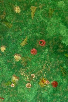 Pavimenti resina: Resina Dega® Art - fiori e foglie naturali da Gobbetto