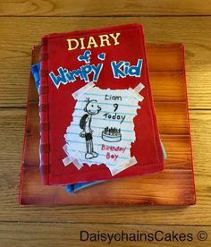 Diary of a Wimpy Kid by Daisychain's Cakes