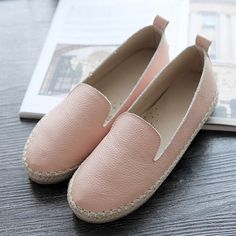 2017 Flat Shoes Woman Fashion Ballet Luxury Women brand Casual Loafers Ladies Genuine Leather Boat Shoes Women Luxury