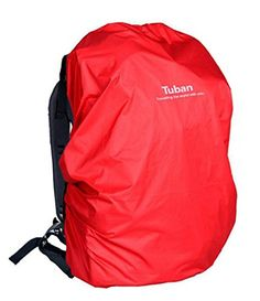 Outdoor Riding Backpack Rain Cover Waterproof Backpack Cover40 L Red >>> Check out this great product.