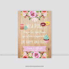 Wedding Designs, Wedding Decorations, Candy, Bar, Slogan, Frame, Welcome Table, Wedding Tables, Wedding Decoration