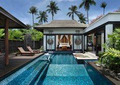 Sala Pool Villa exterior